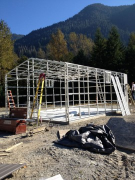 Metal Framing Structure