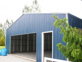 Large Metal Garage