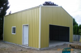 Residential Steel Garage, Richmond, BC