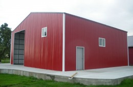 Commercial Welding Metal Building, Richmond, BC