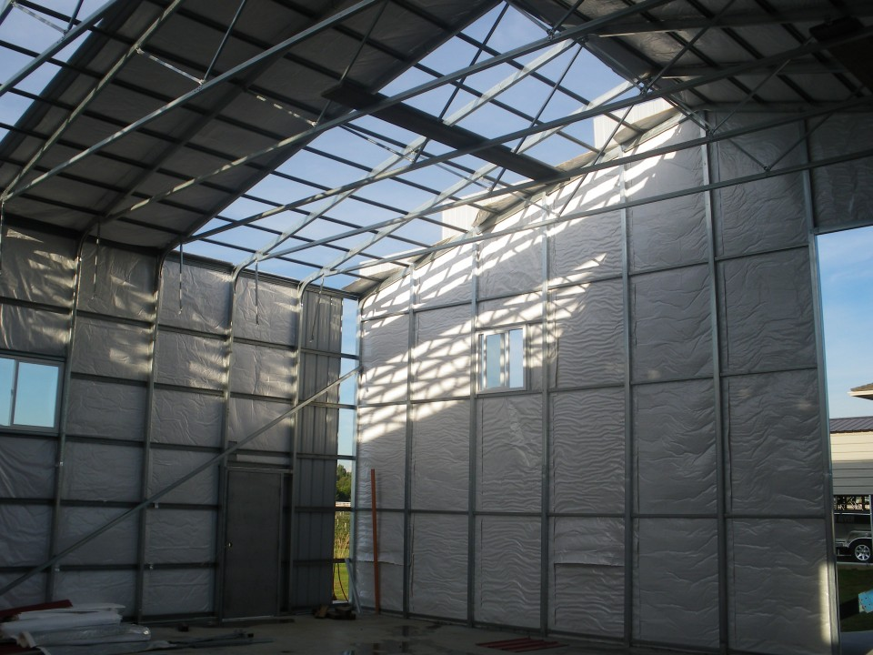 Steel Framed Warehouse Building