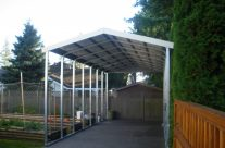 Metal Carport for Boat, Surrey, BC